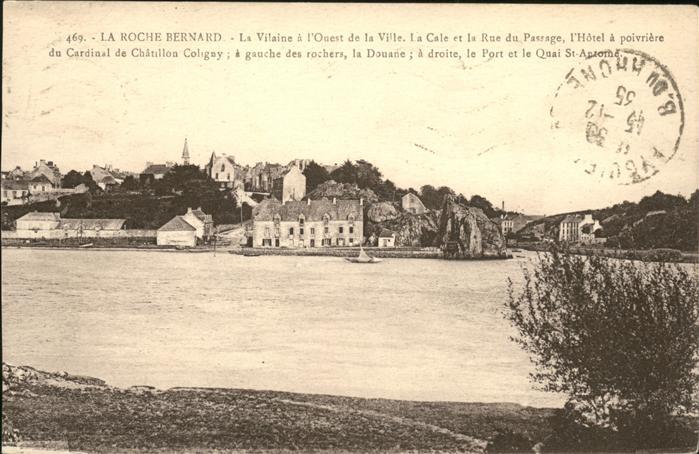 La Roche Bernard la Vilaine a l Ouest de la ville Kat. La Roche Bernard