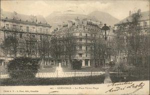 Grenoble la Place Victor Hugo Kat. Grenoble