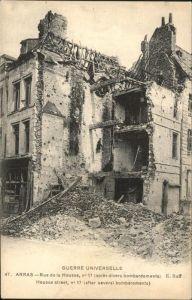 Arras Pas de Calais Rue de la Housse Kat. Arras