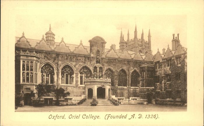 Oxford Oxfordshire Oriel College / Oxford /Oxfordshire