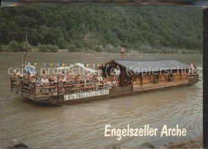 Engelhartszell Donau Oberoesterreich Engelszeller Arche Donaufahrten Kat. Engelhartszell