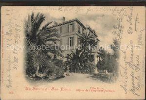 San Remo Villa Zirio Kat. San Remo