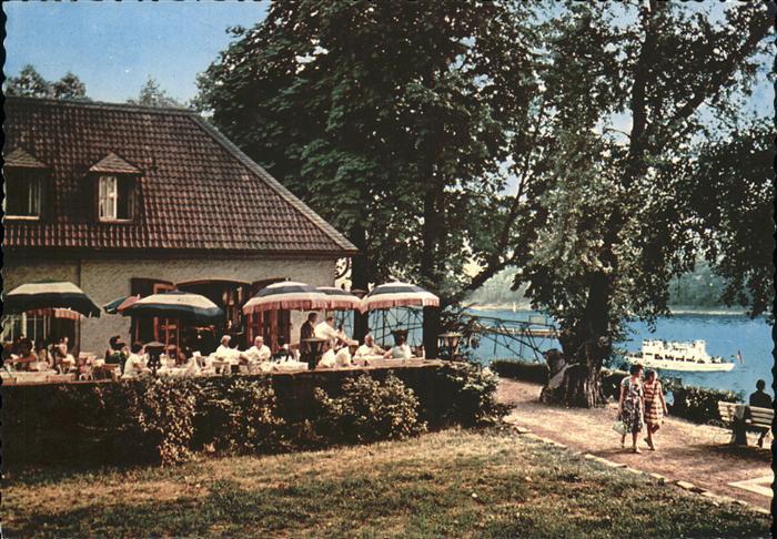 Bad Honnef Rhein Cfae Insel Grafenwerth Kat. Bad Honnef