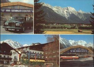 Obsteig Tirol MM Seminar Center Kat. Obsteig