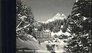 Cortina d Ampezzo Lago di Misurina Hotel Tre Cime di Lavaredo Dolomiti Kat. Cortina d Ampezzo