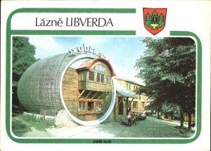Lazne Libverda Restaurant Obri Sud Fass Jizerske Hory Isergebirge Kat. Bad Liebwerda