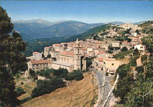 Sartene Le Couvent Saint Damien et la Ville Kat. Sartene