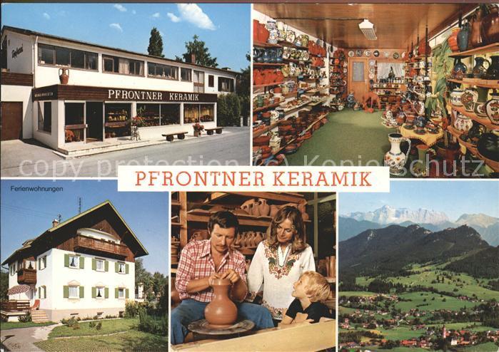 Handwerk Pfrontner Keramik Kat. Handwerk