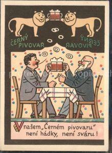 Bier Loewen Humor Praha Kat. Lebensmittel