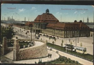Dortmund Hauptbahnhof mit Vehmlinde Bastei Kat. Dortmund