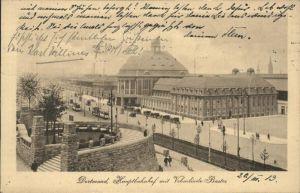 Dortmund Hauptbahnhof mit Freistuhl Vehmlinde Bastei Kat. Dortmund