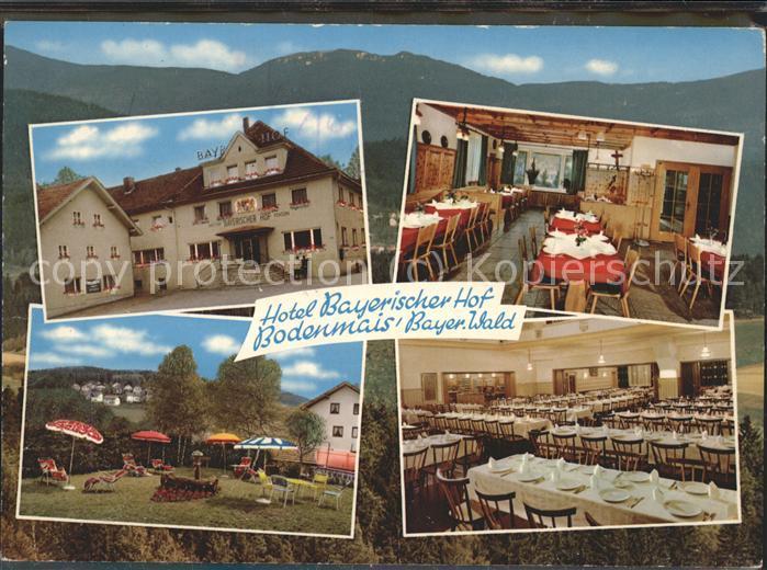 Bodenmais Hotel Bayerischer Hof Kat. Bodenmais