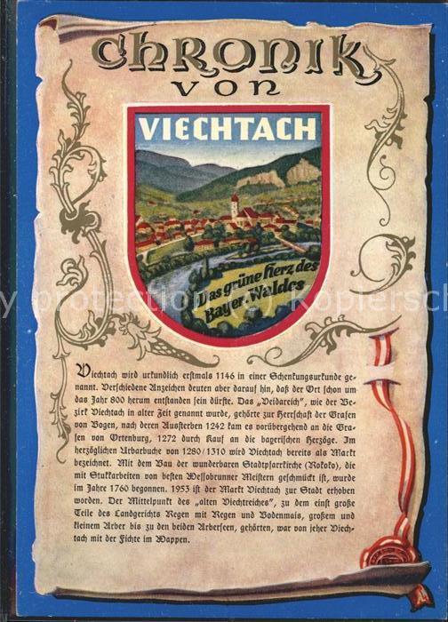 Viechtach Bayerischer Wald Chronik Kat. Viechtach