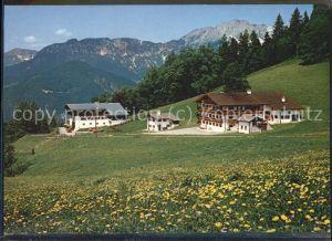 Oberau Berchtesgaden Pension Madllehn Kat. Berchtesgaden