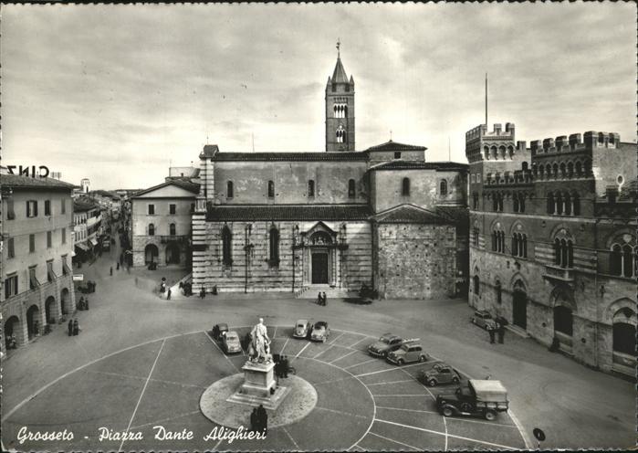 Grosseto Toscana Piazza Dante Alighieri /  /Grosseto