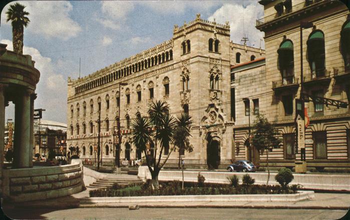 Mexico City Correo Central copia de un Palacio Veneciano Kat. Mexico