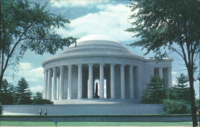 Washington DC President Jefferson Memorial Kat. Washington