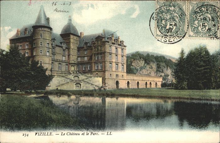 Vizille Le Chateau et le Parc Kat. Vizille