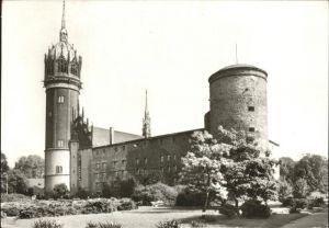 Wittenberg Lutherstadt Schloss mit Schlosskirche / Wittenberg /Wittenberg LKR