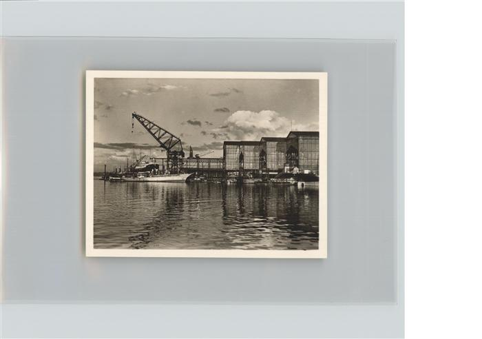 Kiel Partie an der Germanis Werft Kat. Kiel