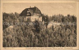 Plauen Vogtland Unterkunftshaus des Vogtl.Touristenvereins Kat. Plauen