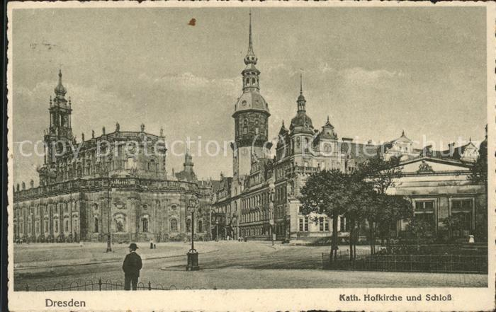 Dresden Kath.Hofkirche u.Schloss Kat. Dresden