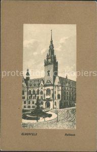 Elberfeld Wuppertal Rathaus / Wuppertal /Wuppertal Stadtkreis
