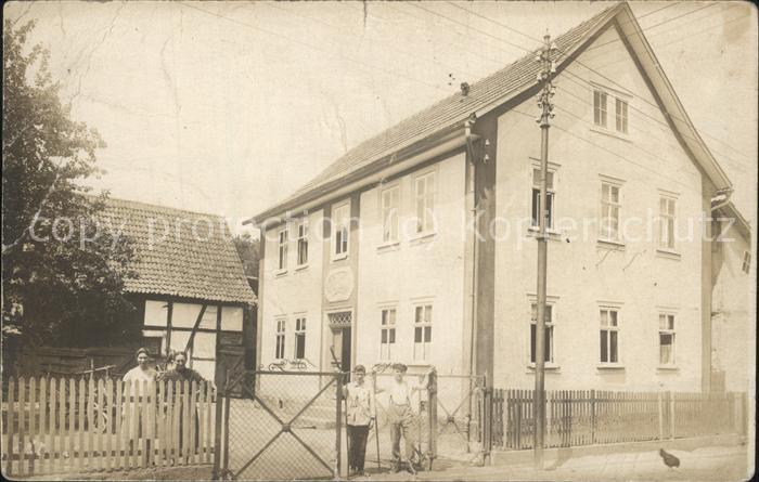 wx71908 Schwerin Warthe Wohnhaus Kategorie. Skwierzyna Alte Ansichtskarten