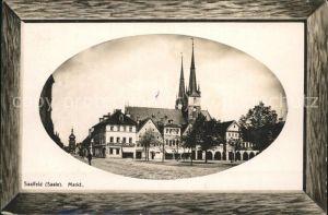 Saalfeld Saale Markt / Saalfeld /Saalfeld-Rudolstadt LKR
