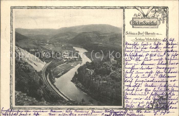 Saalfeld Saale Saalethal Kat. Saalfeld