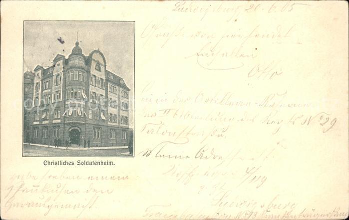Ludwigsburg Soldatenheim Kat. Ludwigsburg