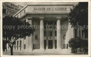 Oran Algerie Banque de l Algerie Kat. Oran
