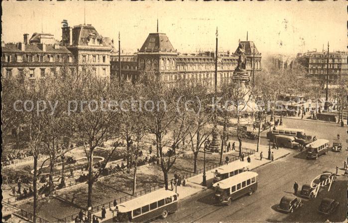 Paris Place de la Republique Kat. Paris