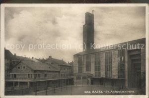 Basel BS St Antoniuskirche Kat. Basel