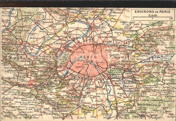 Karte Paris Stadtplan.Paris Stadtplan Kat Paris