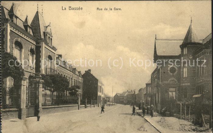 La Bassee Rue de la Gare Feldpost Kat. La Bassee