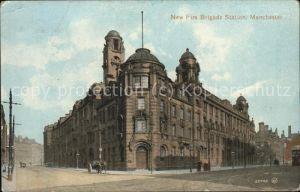 Manchester New Fire Brigade Station Kat. Manchester