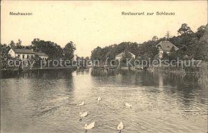 Neuhausen Spree Restaurant zur Schleuse / Neuhausen Spree /Spree-Neisse LKR