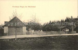 Marienbad Tschechien Boehmen Forsthaus Royau Kat. Marianske Lazne