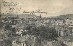 Bielefeld Panorama mit Sparrenburg und Johannisberg Kat. Bielefeld