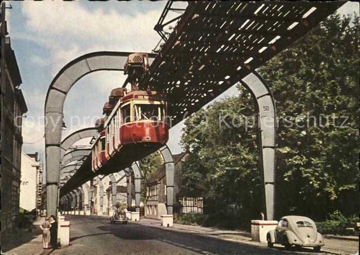 Vohwinkel Schwebebahn im Hammerstein Kat. Wuppertal