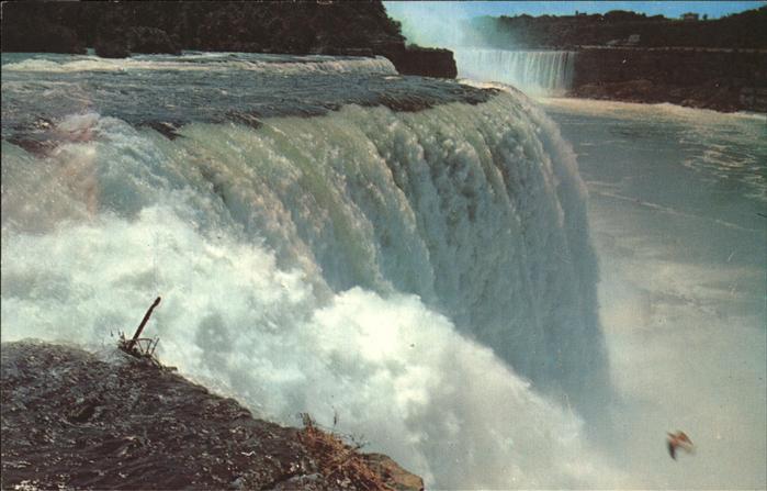 Niagara Falls Ontario American Falls and Horsehoe Falls Kat. Niagara Falls