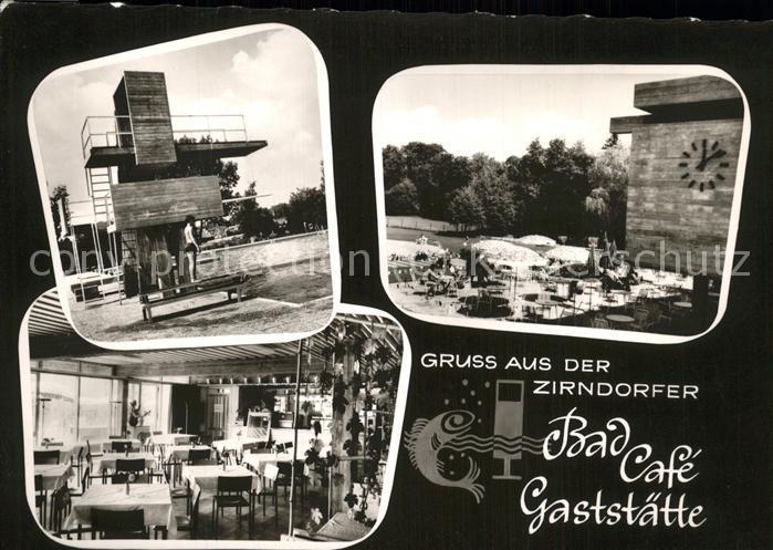 Zirndorf Mittelfranken Bad Cafe Gaststaette Kat. Zirndorf