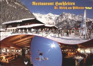 St Ulrich Pillersee Cafe Restaurant Hochleiten Kat. St. Ulrich am Pillersee