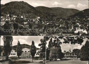 Bad Harzburg Blick zum Burgsberg Kurhaus u.Kasino Kat. Bad Harzburg