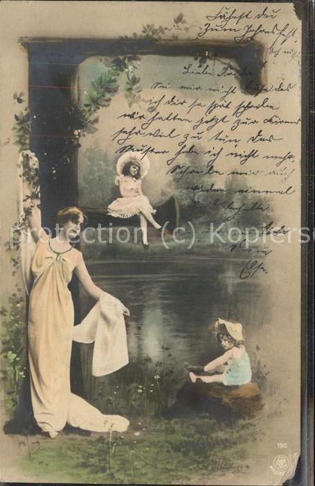 11496026 Poesie Kind Frau Hut Poesie Poesie