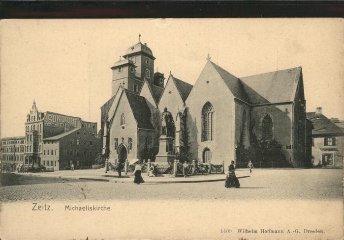 Zeitz Michaliskirche / Zeitz /Burgenlandkreis LKR