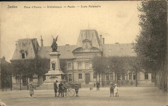 Sedan Place d Alsace Ecole Maternelle Musee Kat. Sedan