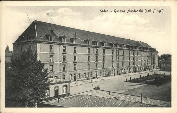 Sedan Kaserne Macdonald Kat. Sedan