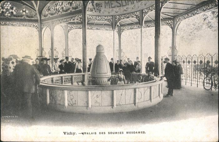 Vichy Allier Palais des Sources Mesdames / Vichy /Arrond. de Vichy